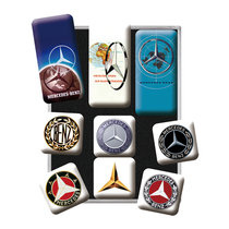 83103 Magneettisetti Mercedes-Benz logot