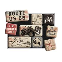 83117 Magneettisetti Route 66 Bike Maps
